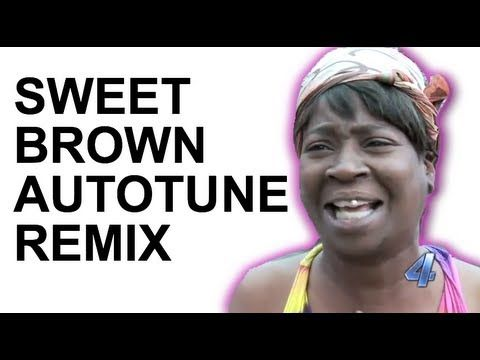 "Last weekend, a woman named ""Sweet Brown"" was interviewed about her experience of escaping from a fire in her apartment.    The delivery of her comments put a humorous spin on a serious story and resulted in the 40 second video going viral shortly after.   This sort of remix makes me wonder what we did for entertainment before the internet."