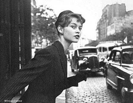 * Brigitte Bardot 1952 - photo Georges Dambier