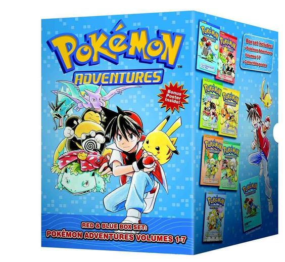 Capture the excitement of Pokemon Adventures! Reads R to L (Japanese Style) for…