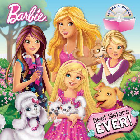 Best Sisters Ever Barbie Walmart Com Barbie And Her Sisters Barbie Coloring Best Sister Ever