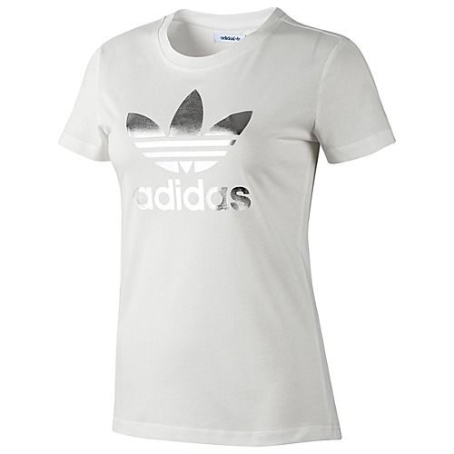 Buy cheap Online,adidas shirt Silver