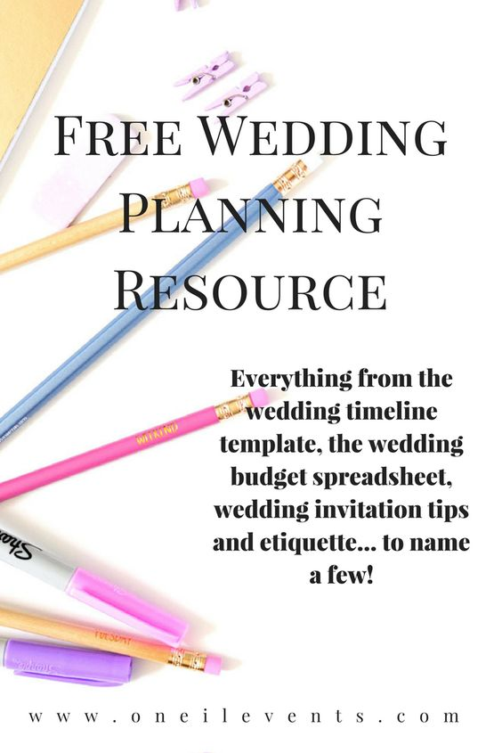 Wedding Timeline Template Wedding Budget Spreadsheet And Other