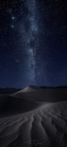 Amazing place. Saw it by day but never by night. Will just have to go back! Death Valley National Park, California; photo by .Ted Gore
