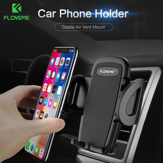 Universal Cell Phone Holder Air Vent Car Mount Stand Holder For iPhone Samsung