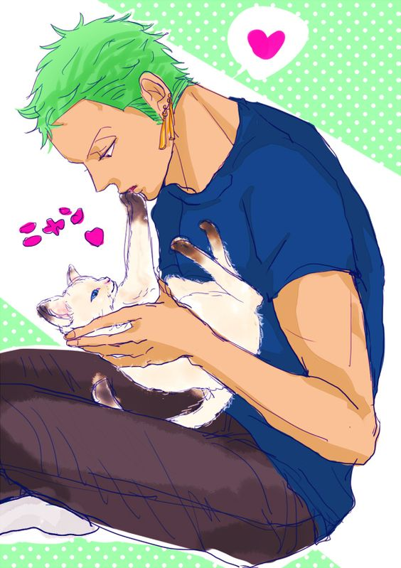 Boys always look adorable with small fluffy creatures. Even the manliest of them.