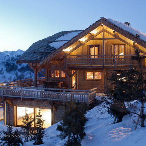 Chalet Meleze Les 2 Alpes Chalets Bayrou Maison Ossature Bois