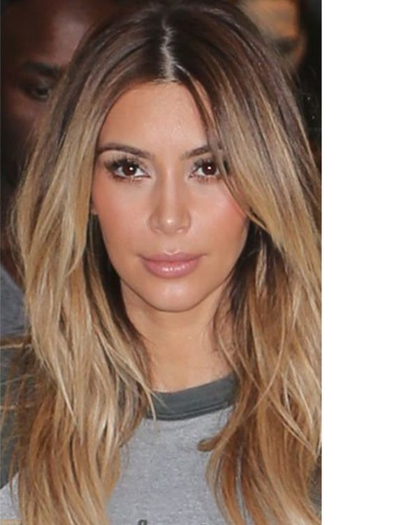Excellent kim kardashian blonde hair highlights something