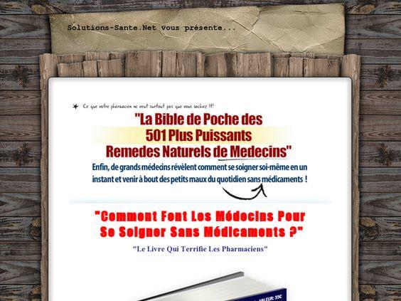 La Bible De Poche Des 501 Plus Puissants Remedes Naturels De Medecins Review  Get Full Review : http://scamereviews.typepad.com/blog/2013/04/la-bible-de-poche-des-501-plus-puissants-remedes-naturels-de-medecins-get-for-free.html
