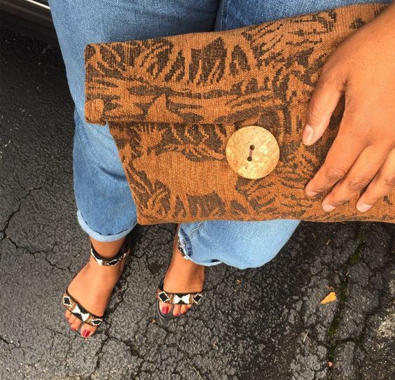 A personal favorite from my Etsy shop https://www.etsy.com/listing/466987544/out-in-the-wild-clutch-ii