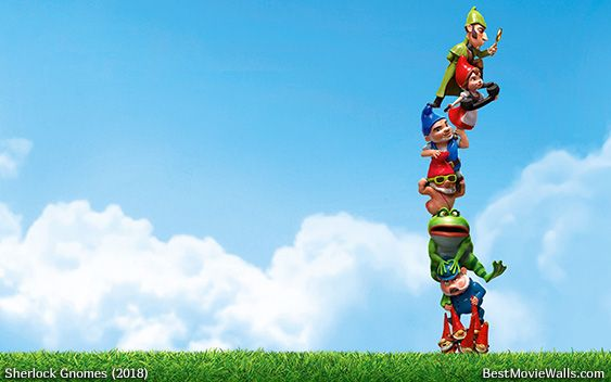 Sherlockgnomes Is On Top Of It All Except It All Depends On The Gnomes In This Wallpaper Hd Gnome Wallpaper Gnomes Love Wallpaper