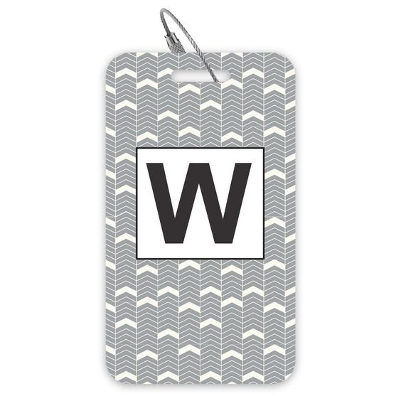 Set of 2 Luggage Tags: