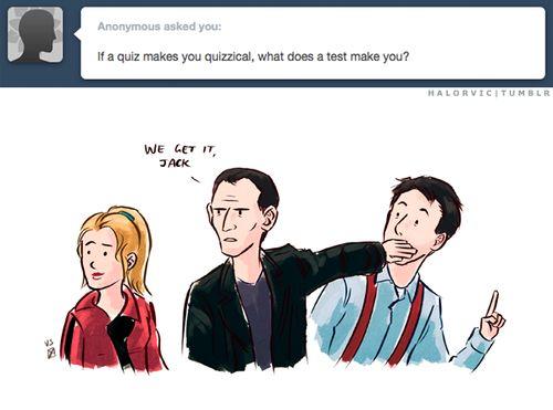 We get it, Jack. // I miss them!