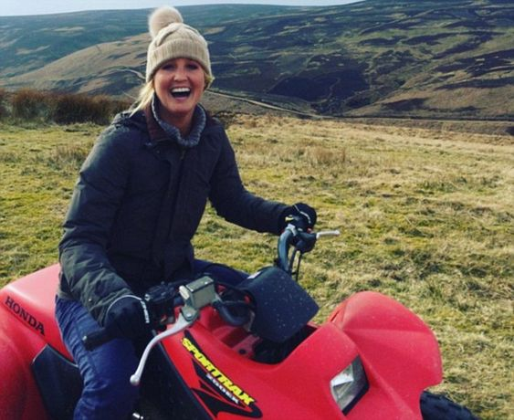 Lady Melissa Percy - 'Missy' to pals - has been enjoying the company of notorious ladies' man Otis Ferry, eldest son of rock star Bryan Ferry. Otis posted a picture of Missy smiling radiantly as the couple rode quad bikes in the Northumberland countryside.
