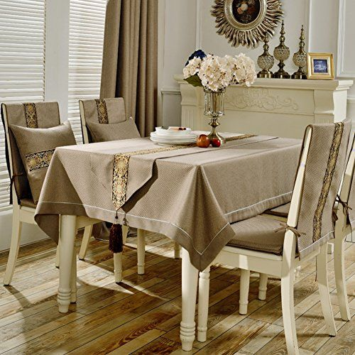 Modern Simple Table Cloth Table Cloth Cushions Cotton And Linen