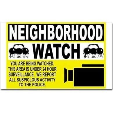neighborhood watch decals - Google Search