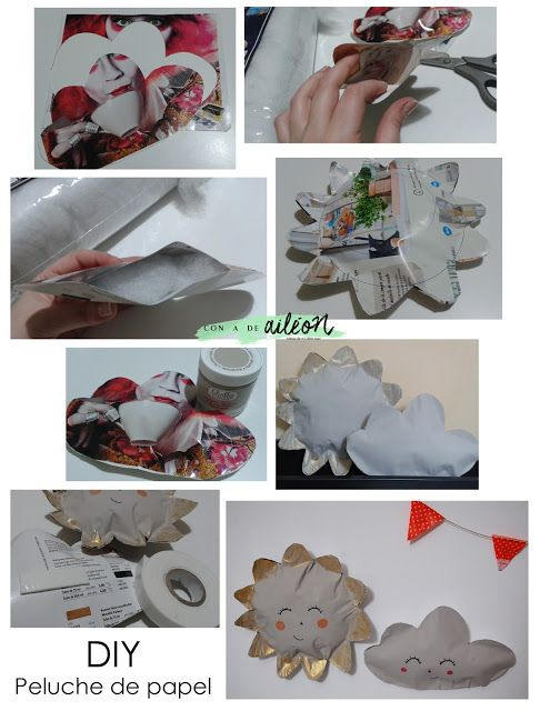 Upcicled magazine / Peluches de papel