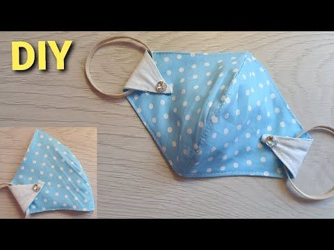 New Style Face Mask Sewing Tutorial Make Fabric Face Mask At Home Diy Cloth Face Mask Youtube Sewing Tutorials Diy Sewing Pattern Diy Sewing
