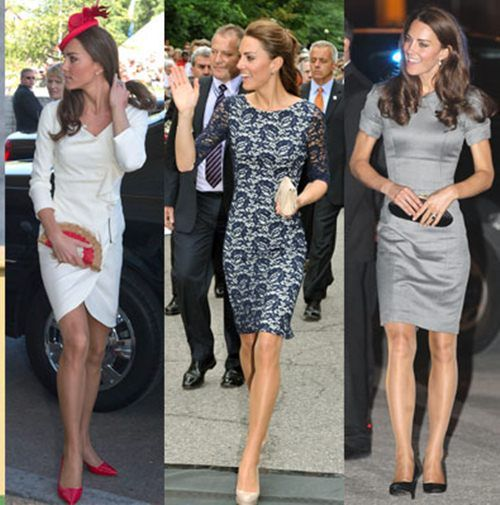 I'm pretty sure I was Kate Middleton in a past life....only with red hair.  She's stunning and her style is amazing!