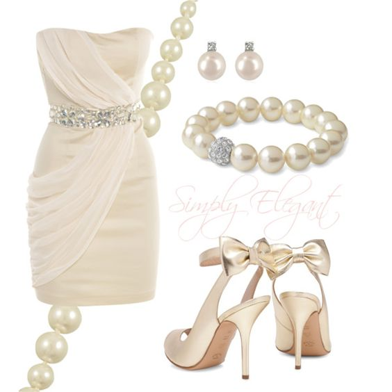 Simply Elegant, created by melaniej23 on Polyvore