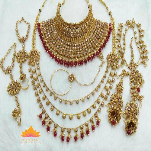 Indian Bridal Jewelry Kundan