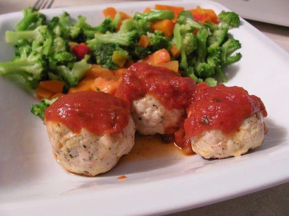 Feta stuffed Turkey Meatballs | Cooking/ Baking/Drinking | Pinterest ...