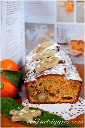 Cake aux Agrumes, Fruits secs et Pâte d'amandes - Cuisine et Cigares