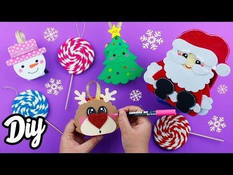 Diy Regalos Y Adornos Faciles Reciclando Manualidades Para Navidad Mery Youtube Manualidades Manualidades Navidad Manualidades Navidenas