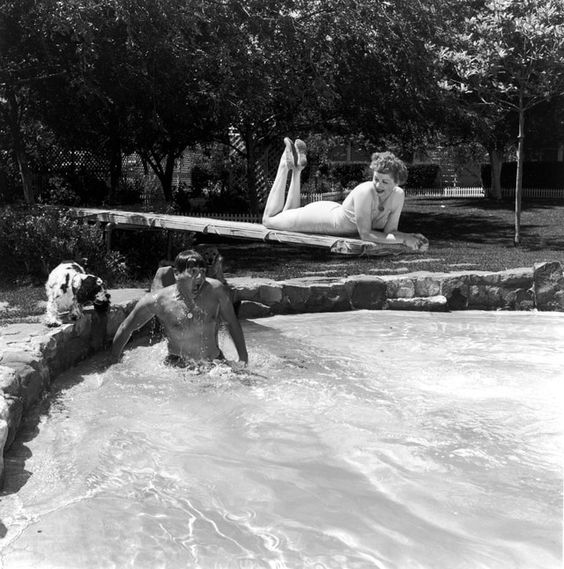 Swimming Pools, Movie Stars: Lucy and Desi and Their Big Pool