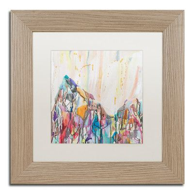 Trademark Art 'Mercedario' by Lauren Moss Framed Painting Print