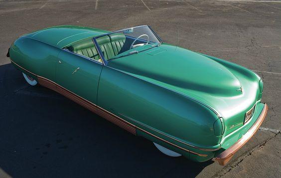 1941 Chrysler LeBaron Thunderbolt.
