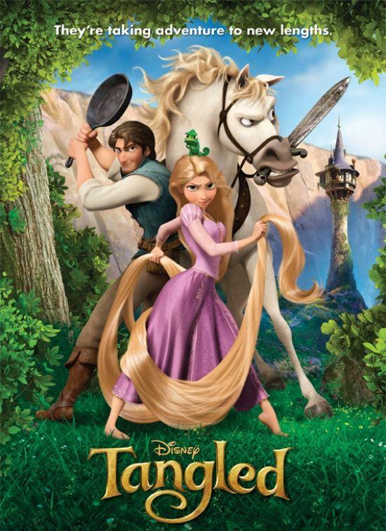 Tangled. Looove this movie