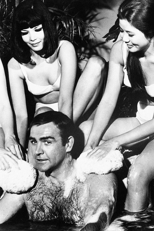 Sean Connery as James Bond in You Only Live Twice: