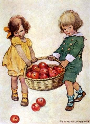 old children's book illustrations