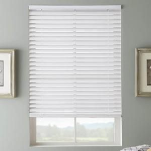 2 Selectwave Cordless Faux Wood Blinds Wood Blinds Faux Blinds White Wood Blinds