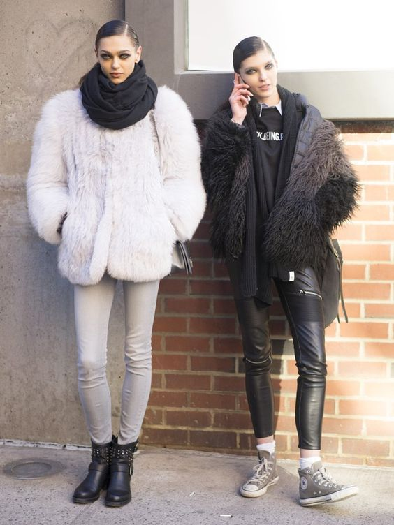 Pin for Later: The Street Style Hot Enough to Make You Forget the Cold NYFW Day Two