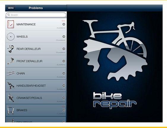 Bike-Repair-Gear-Patrol App #bicyclerepair
