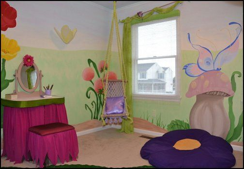 Fairy Tinkerbell Bedroom Ideas Decorating With Fairies Tinker
