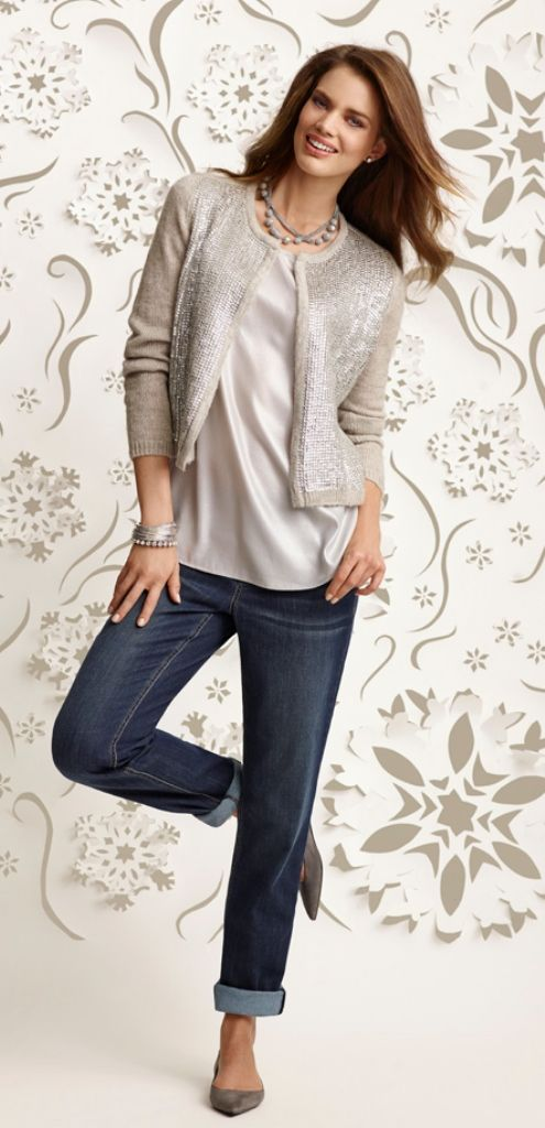 The Party Cardi: And don't forget your best boyfriend. #gifts #chicos #HolidayFeeling