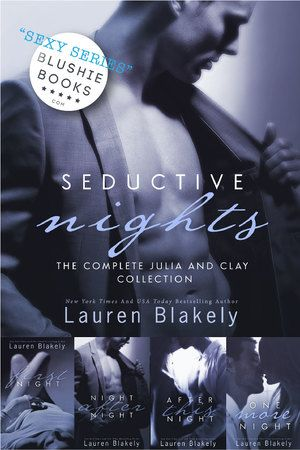 @blushiebooks SEDUCTIVE NIGHTS (Complete Series) by Lauren Blakely