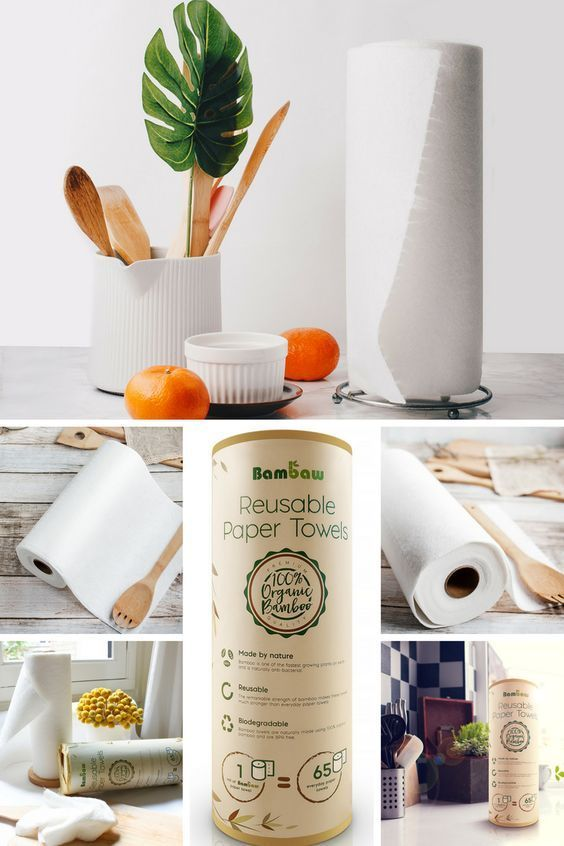 Bambaw Reusable Paper Towel Zero Waste Zerowaste Eco Friendly