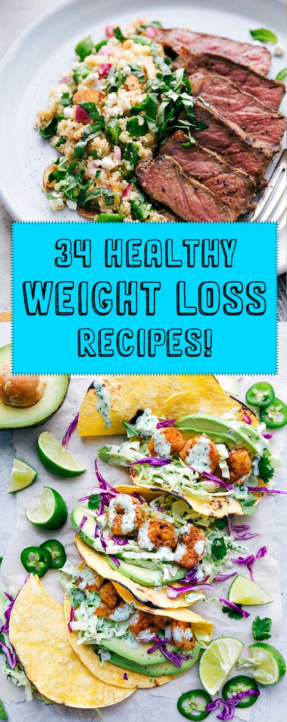 34 Weight Loss Recipes That Will Help You Smash Your Goals In 2019!