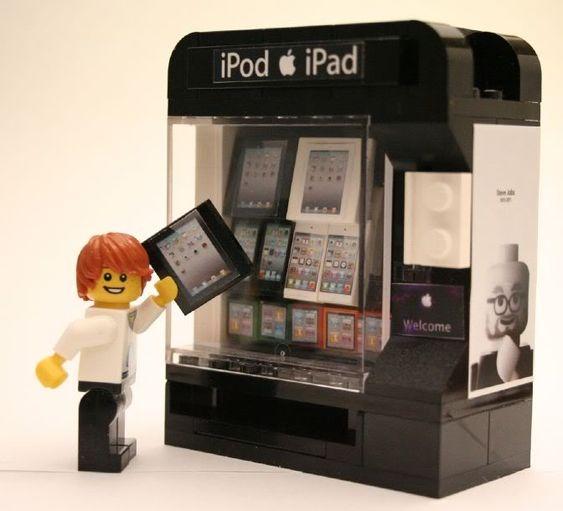 Candy Vending Machine Kit @ brickbuilderspro | Lego Instructions ...