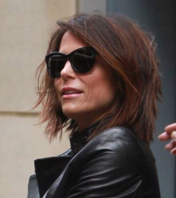 Bethenny Frankel short hair -- great cut & color