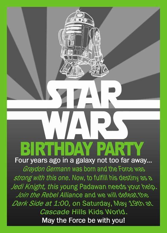 Star Wars Birthday Invitation Template New Star Wars Birthday Invitation 10 00 Via In 2020 Star Wars Birthday Invitation Star Wars Birthday Star Wars Invitations Free