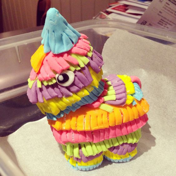 how to make a donkey pinata cake