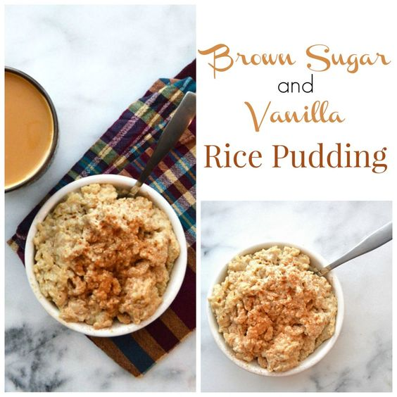 rice puddings puddings rice brown sugar vanilla sugar brown ohio beans ...