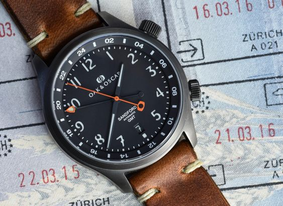 Oak & Oscar Sandford GMT Watch Announced Watch Releases