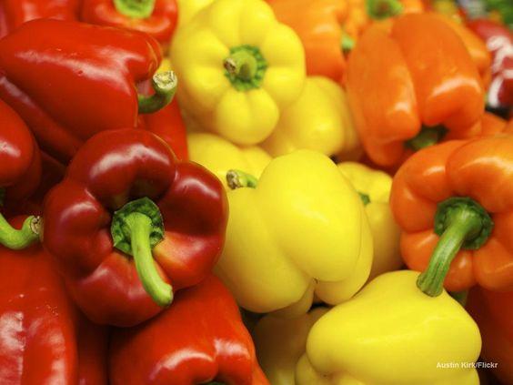 Variação de pimentas