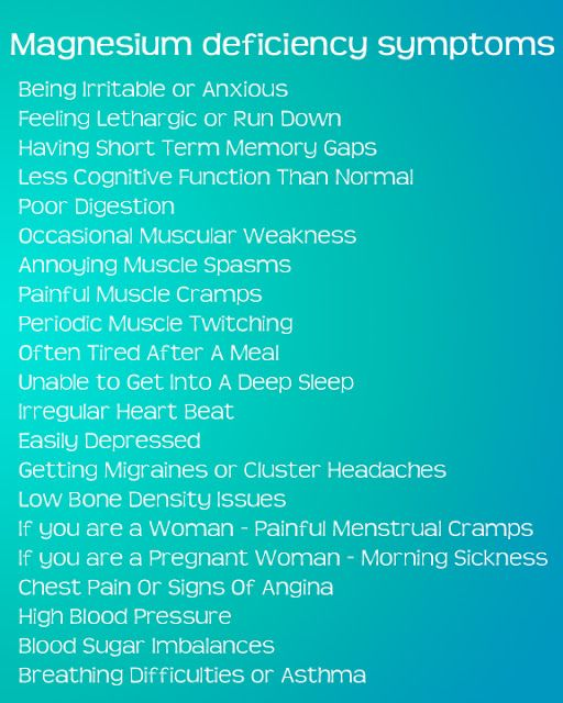 Magnesium Deficiency Symptoms plus a tutorial on how to make magnesium spray.  I am amazed.  2 weeks ago I got the OK from my doctor to take.  I am really learning a whole lot.  LM-J