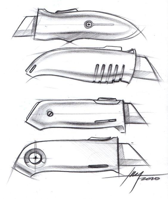 Box cutter designs. sketch-a-day-147